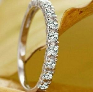 925 Silver and AAA CZ Ring